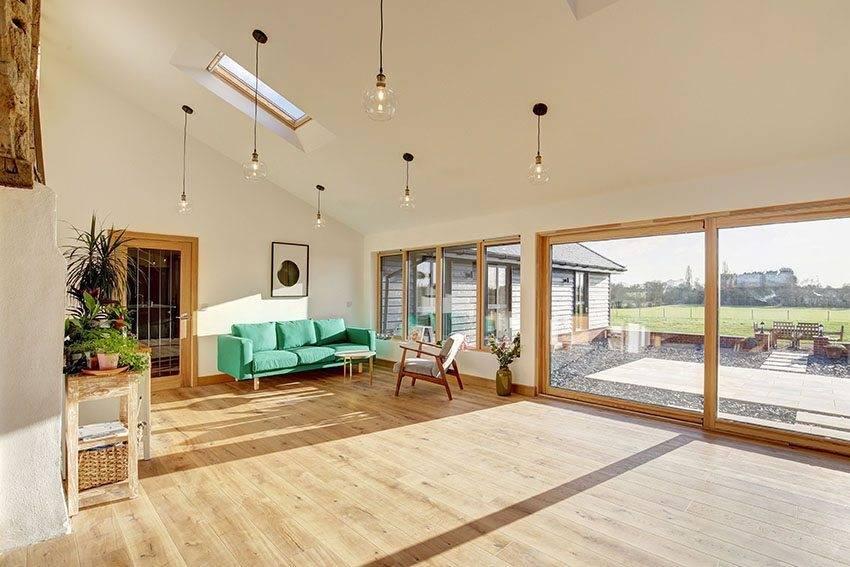 Contemporary Composite Windows at Primrose Farm Barn