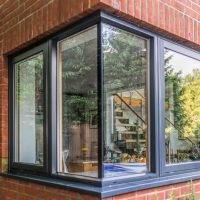 Swedish Composite Windows Side View
