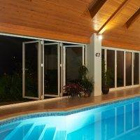 Bi Fold Doors To Swimming Pool 2