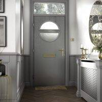 Distinction Composite Door - Grey
