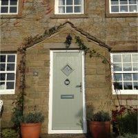 Kingston Composite Door Olive By Virtuoso