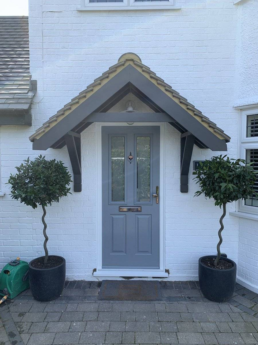French Grey Solidor Composite Door