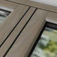 Close Up Flush Casement UPVC Windows