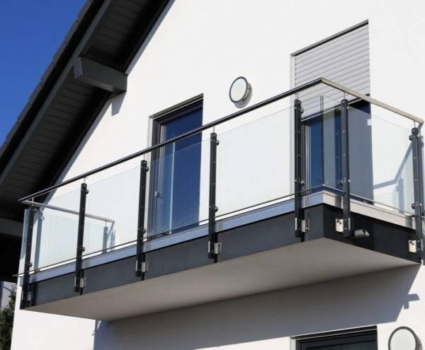 Glass Balcony in Shropshire