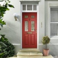 Nxt Gen Distinction Composite Door - Red