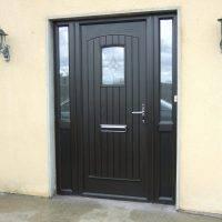 Palladio Composite Door Black