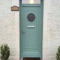 Palladio Composite Door - Light Green