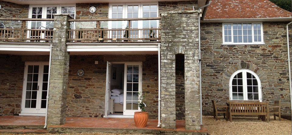 Rationel Forma Timber Windows In Stone
