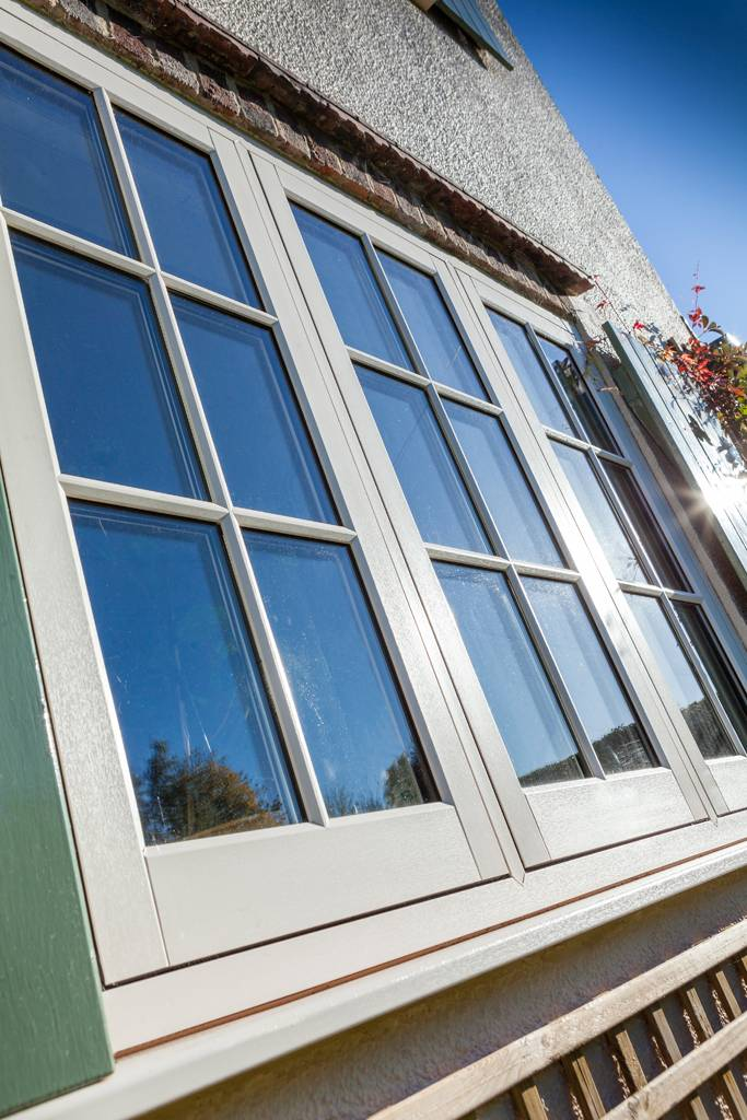 uPVC Flush Casement Windows Side