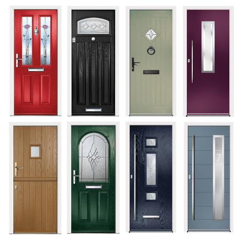 Virtuoso Customisation Composite Doors