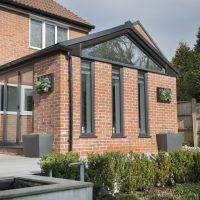 Picture of large extension with WARMroof