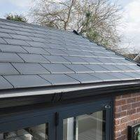 Close up picture of WARMroof tiles